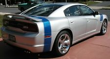 DODGE CHARGER BUMBLEBEE TRUNK FACTORY STRIPE AUTOMOTIVE 3M DECAL 2011 - 2014