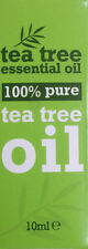 100 % Pure Tea Tree Essential Oil 10ml Antiseptic, Anti Fungal