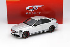 Mercedes-Benz AMG C 63 s sedan plata 1:18 GT-Spirit