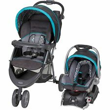 Baby Trend EZ Ride 5 Travel System Stroller and Infant Car Seat, Houndstooth NEW