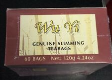 Quest For Life  Wu Yi Slimming Tea Fat Burning 1 Box of 60 Tea Bags SEALED