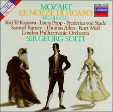 Mozart: Le nozze di Figaro / Te Kanawa, Popp, Ramey, Solti [ - Disc Only No Case