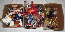 Huge lot of Power Rangers Actions figures & Vehicles, Megazords loose parts