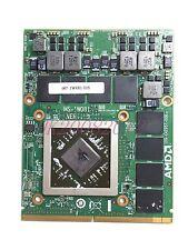 MSI GX60 GX70 MS-16FK  HD 7970M 2GB GDDR5 Video card MS-1W081 607-1W081-01S