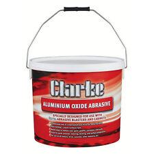 Ossido di alluminio per sabbiagtrici grit 60-80 secchio da 20kg Clarke 3052110