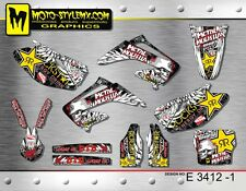 Honda CR 125 250 2002 up to 2007 graphics decals sticker kit Moto StyleMX
