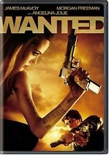 DVD - Action - Wanted - James McAvoy - Angelina Jolie - Morgan Freeman