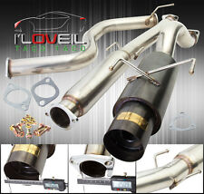 "96 97 98-00 Honda Civic Hatch Back 3DR Ek 3"" N1 Gunmetal Catback Exhaust System"