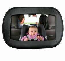 LARGE WIDE VIEW REAR/BABY/CHILD SEAT CAR SAFETY MIRROR HEADREST MOUNT
