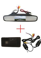 Wireless 4.3'' Mirror Monitor Reverse Caméra for BMW E81 E87 E90 E91 E92 E60 E61