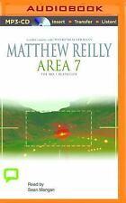 Shane Schofield: Area 7 2 by Matthew Reilly (2014, MP3 CD, Unabridged)