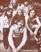 """Beach Boys Poster Print - Late Era Band Photo - Brian Wilson  11""""x14"""" Sepia"""