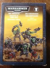 Warhammer 40K. Ork Tankbustas, Nob And Squigs. Boxed. Metal oop.