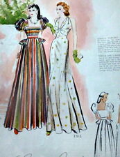 VTG 1930s McCALLS MAGAZINE Fashion Sewing Pattern Catalog Womens Interest 1939