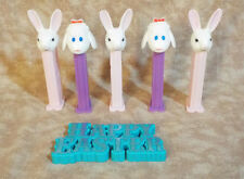 Vintage Easter Pez ( Rabbits and Sheep) & Easter Decoration