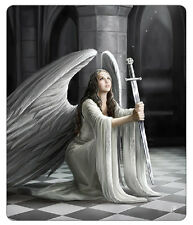 Anne Stokes The Blessing Blanket Polar Fleece Throw Gothic Bedding Angel Sword