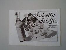 advertising Pubblicità 1940 ANISETTA MELETTI