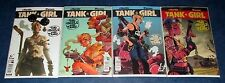 TANK GIRL two girls one tank #1 2 3 4 1st print COMPLETE set TITAN COMIC 2016 NM