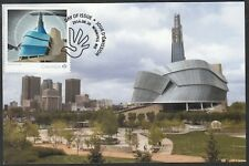 CANADA # 2771 POST ISSUES STAMP for CANADIAN MUSEUM for HUMAN RIGHTS, MAXICARD