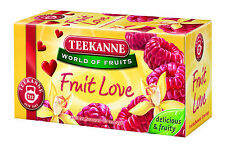 Teekanne Fruit Love tea - fruit tea with sweet raspberries and vanilla flavour