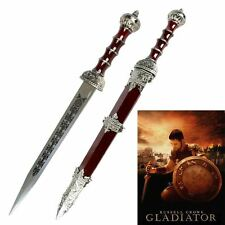 "18"" Stainless Steel Gladiator (Russell Crowe) Gladius Sword Replica With Sheath"
