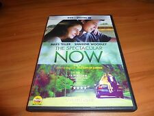 The Spectacular Now (DVD, Widescreen 2014) Shailene Woodley, Miles Teller Used