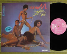 BONEY M, LOVE FOR SALE, LP 1977 ORIGINAL FRANCE VG+/VG+, FULLY LAMINATED/SL