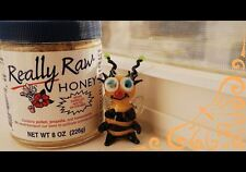 Fresh Really Raw Honey  8oz  { PRIORITY MAIL1 DAY FREE  SHIPPING} * you'll ❤