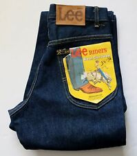New Old Stock Lee Riders Boot Cut Jeans Men's Size W30 L36 Vintage Made in USA
