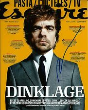 Peter Dinklage signed 8x10 photo - Game of Thrones