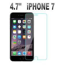 100% GENUINE TEMPERED GLASS FILM SCREEN PROTECTOR FOR APPLE IPHONE 7 - NEW 4.7""