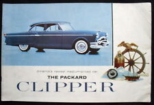 PACKARD CLIPPER SALES BROCHURE 1954 (USA)