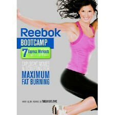 REEBOK BOOTCAMP 7 WORKOUTS EXERCISE DVD NEW SEALED