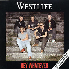 Hey! Whatever [UK CD #1] [Single] [ECD] by Westlife (CD, Sep-2003, Rca)