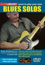 Learn to Play Your Own Blues Solos Lick Library DVD NEW 000393012