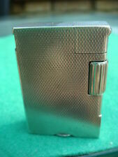 VINTAGE ART DECO ASPREY SOLID SILVER HALLMARKED LIGHTER SIMILAR TO DUNHILL  B& C