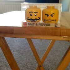 BN Yellow Lego Salt & Pepper Heads.