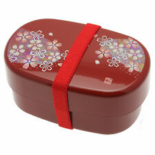 1pc Japanese Red Rainbow Sakura  Bento box for Made In Japan #280-287