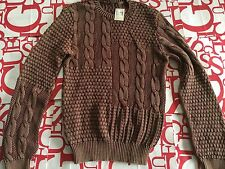 Guess Sweater Plaited-Knit Multi Design Size L