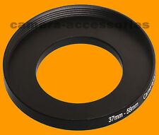 37mm to 58mm 37-58 Stepping Step Up Filter Ring Adapter 37-58mm 37mm-58mm M to F