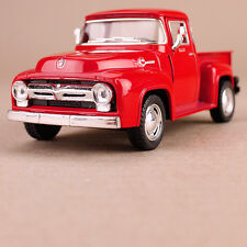Red 1956 Ford F-100 Ute Pick-up 1:38 Scale Die-cast Collectible Detailed Car