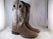 NEW WOMEN'S MUSTANG BY DURANGO WESTERN BOOT (DRD0136) BROWN LEATHER 8 MED $160