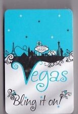 NEW DECK OF VEGAS BLING IT ON .  DECKOF PLAYING CARDS  IN PLASTIC CASE .