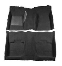 NEW! 1964-1968 Ford Mustang BLACK Carpet Set Front, Rear COUPE, Hardtop Correct