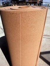 "CORK ROLL  3' WIDE (BY linear FOOT) 1/4""( 60 mil ) thick bulletin board sheets"