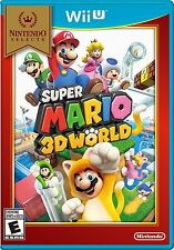 SUPER MARIO 3D WORLD * NINTENDO Wii U * BRAND NEW FACTORY SEALED!
