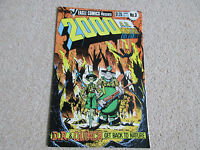 2000AD Monthly Vol.1 No 3-  Eagle Comics, 1986-Dr & Quinch,get back to nature