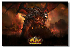 "World of Warcraft Game Online Silk Wall Poster Picture Decor 24""x36"" MOP025"