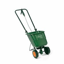 Scotts EASYGREEN ROTARY FERTILISER SPREADER On/Off Grip Handle 585x290x330mm