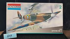Monogram 1/48 Supermarine Spitfire Mk.II, 1:48 scale, Lot 109